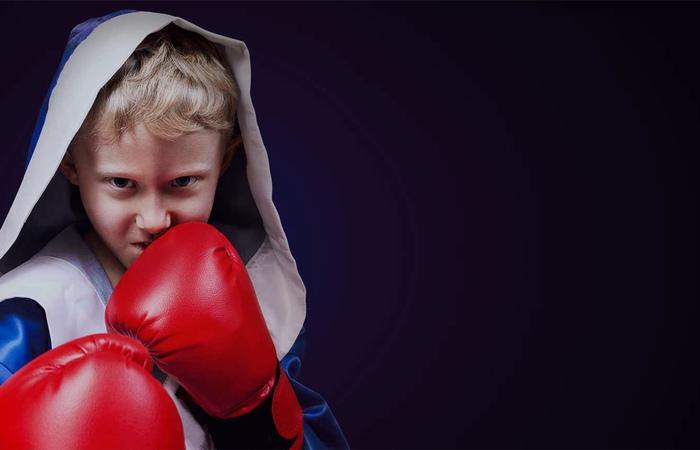 Картинка ребенка бокс